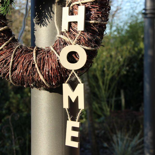 Holz-Girlande HOME