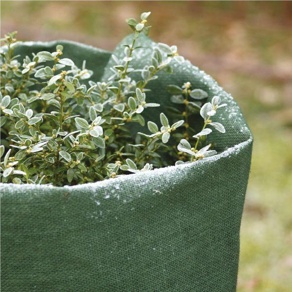 Jute-Gewebe robustes Winterschutz-Gewebe grün