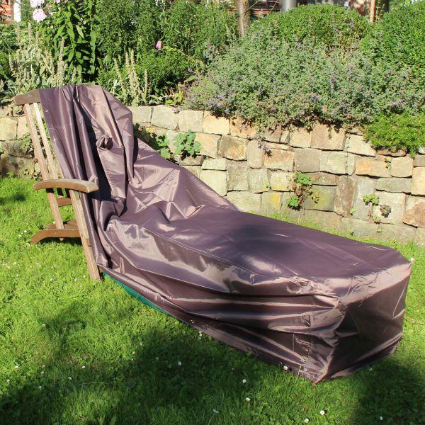 Gartenmöbel-Abdeckung für Gartenliege taupe