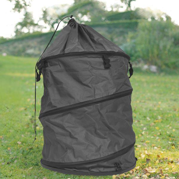 Gartensack Laubsack PopUp, stabile Ausführung, anthrazit