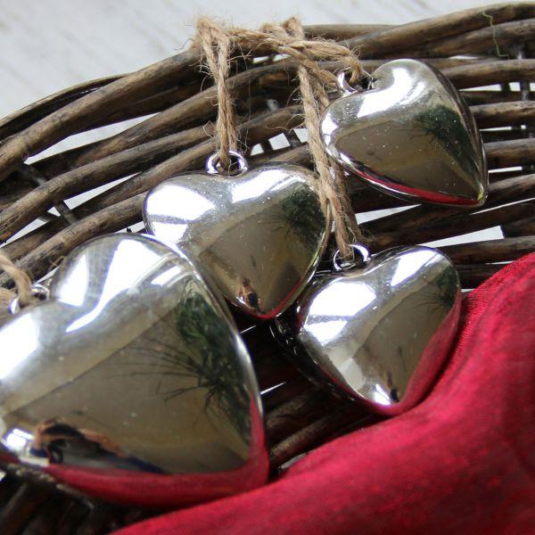 Anhänger Herz Shine silber