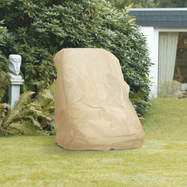 Gartenmöbel-Abdeckung Hochlehner Sessel beige