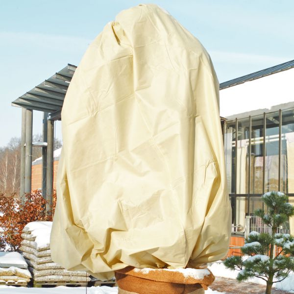 Winterschutz Mega Vlieshaube, beige