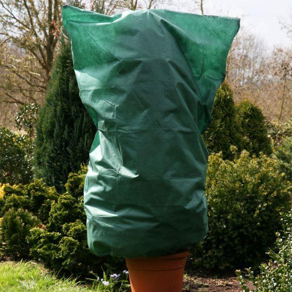 Vlieshaube groß, XL grün