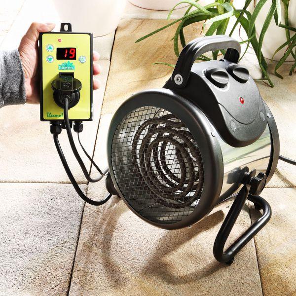 Elektro-Gewächshausheizung Palma Digital