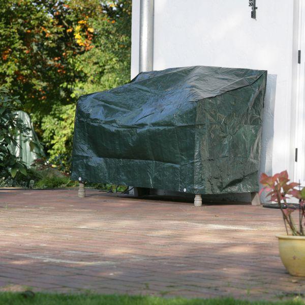 schutzhaube pe gartenbank, abdeckung grün | winterschutz.de, Gartengerate ideen