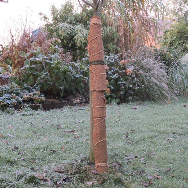 Kokosmatte Winterschutz Stammschutz natur