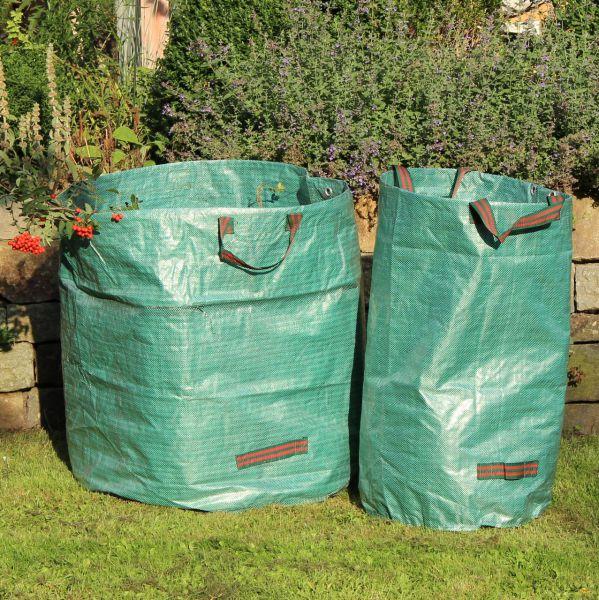 Gartensack Laubsack STRONG, Springöffnung, grün