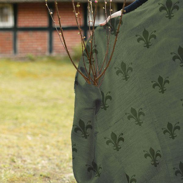 Jute-Gewebe Winterschutz-Gewebe Lilie-grün