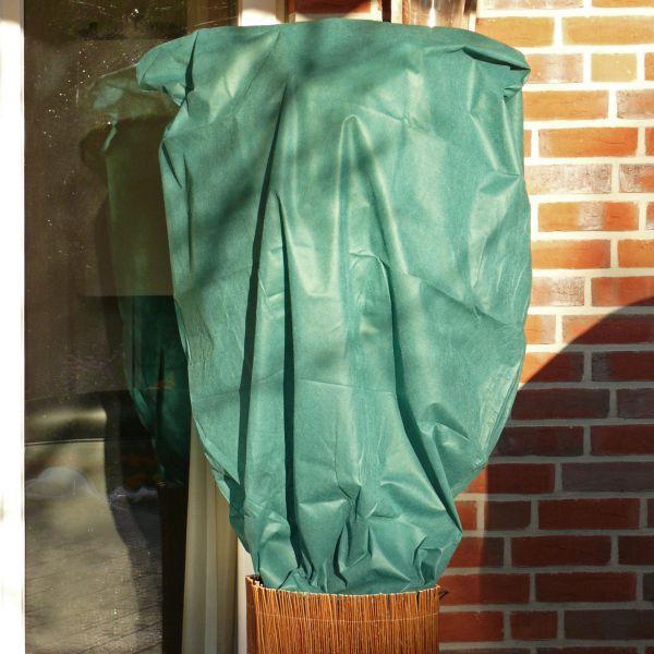 Vlieshaube  groß XL grün