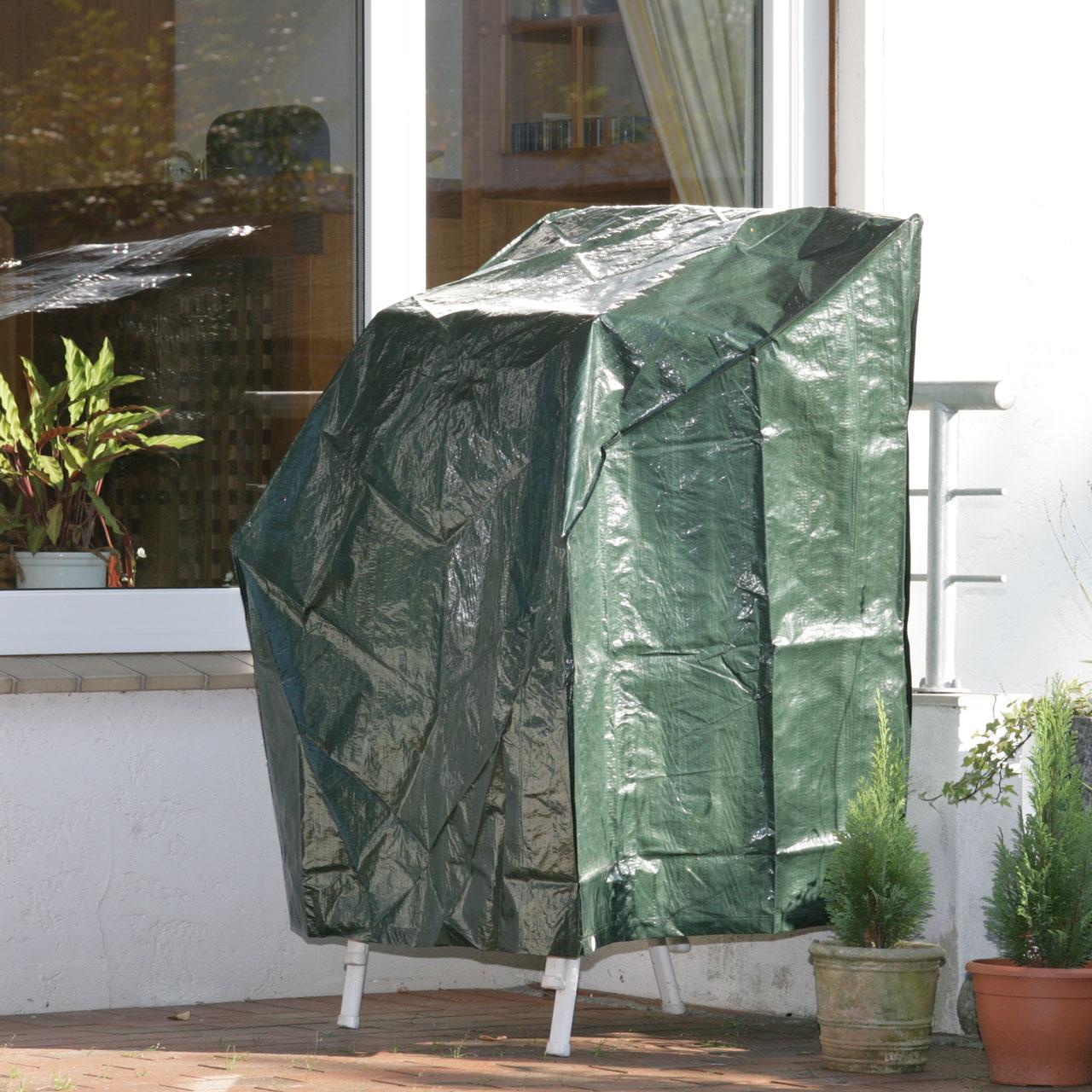 schutzhaube pe stapelst hle abdeckung gr n. Black Bedroom Furniture Sets. Home Design Ideas