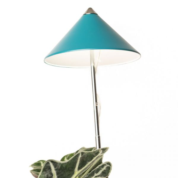 LED-Pflanzenlampe SUNLiTE 1m Teleskopstab, petrol