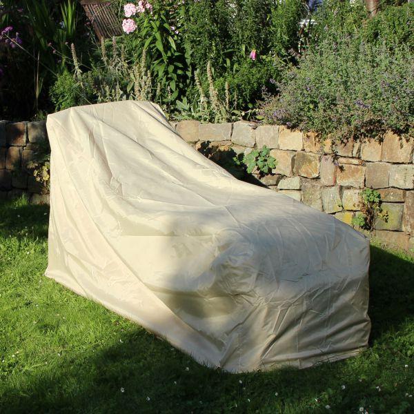 Gartenmöbel-Abdeckunggartenliege beige