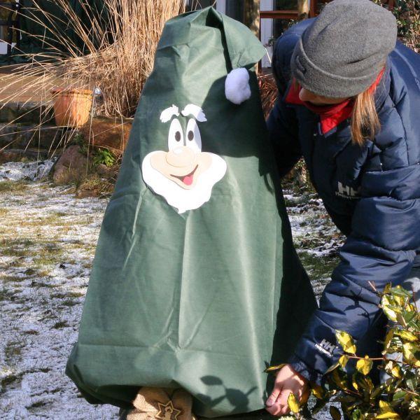 Vlieshaube Winterschutz Gartenzwerg Seppi Setgrün