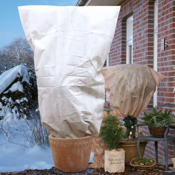Vlieshaube gross XL Winterschutzweiss