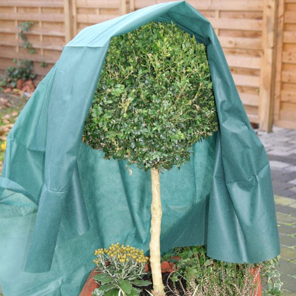 Vlies Gewebe Unkrautvlies Winterschutz grün