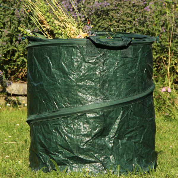 Gartensack PopUp stabile Ausführung grün