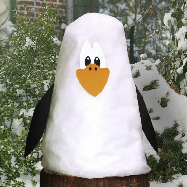 Winterschutz Vlieshaube Pinguin Set Piet
