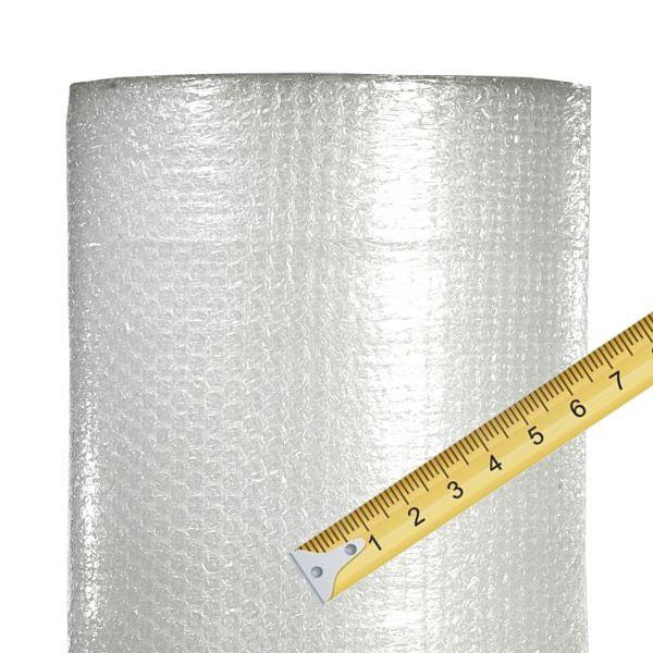 Luftpolsterfolie kleine Noppen, Meterware, 1m breit
