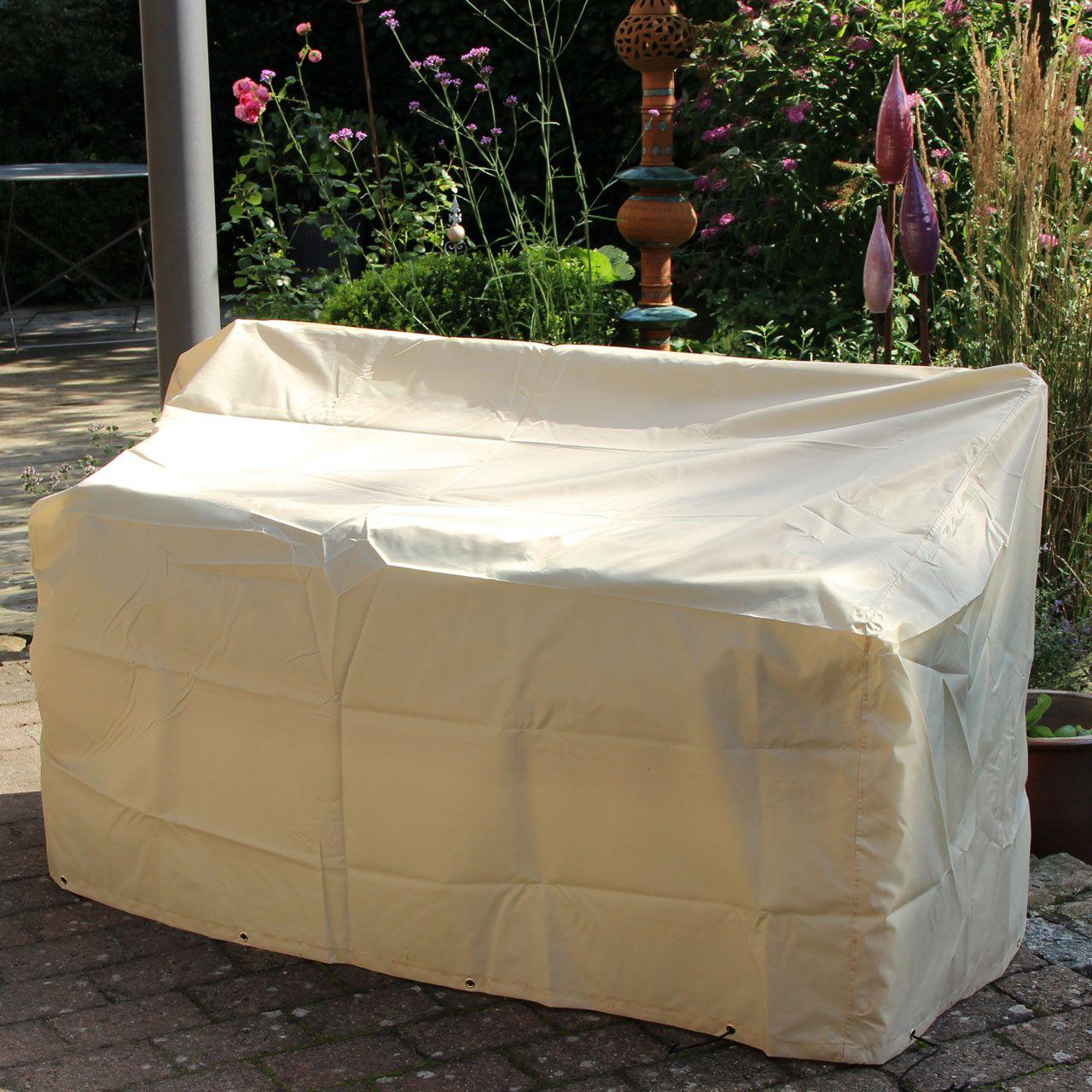 gartenmöbel-schutzhülle gartenbank, abdeckung beige | winterschutz.de, Gartengerate ideen