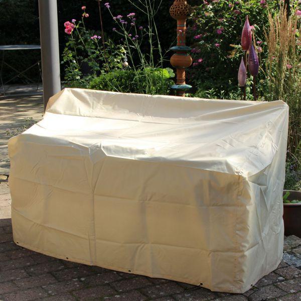 Gartenmöbel-Schutzhaube Gartenbank beige