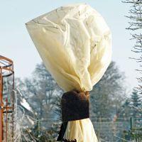 Wintervlies Gewebe, 34 g/qm, beige