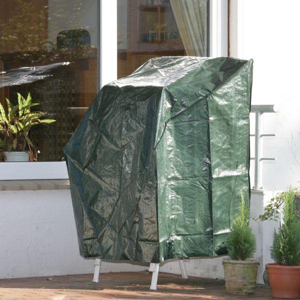 Gartenmöbel-Abdeckung Stapelstühle grün